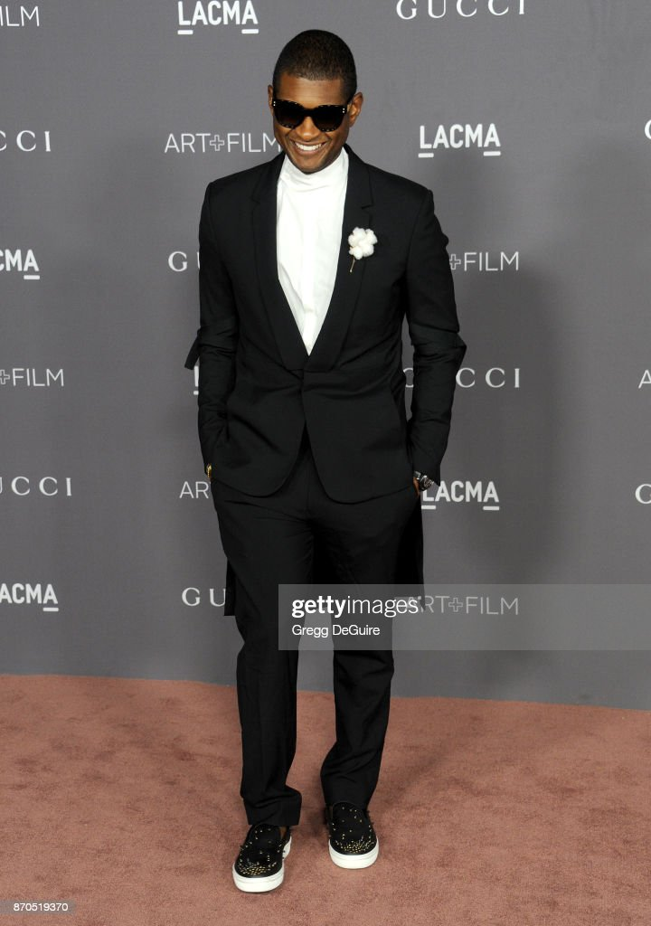 Usher Arrives At The 2017 Lacma Art Film Gala Honoring Mark News Photo Getty Images