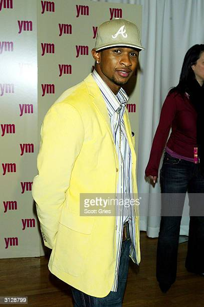Usher arrives at the 5th Annual YM MTV Issue party at Spirit March 24 2004 in New York City
