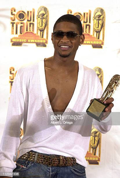 Usher at the 16th Annual Soul Train Music Awards in Los Angeles California on March 20 2002