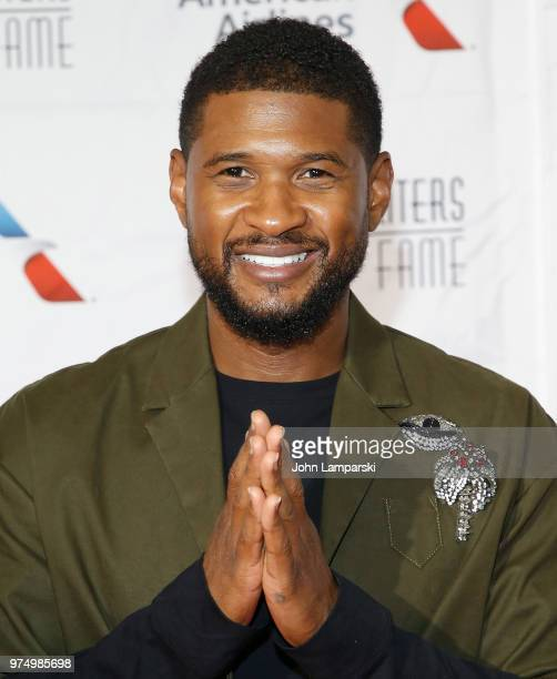 Usher attends 2018 Songwriter's Hall of Fame Induction and Awards Gala at New York Marriott Marquis Hotel on June 14 2018 in New York City