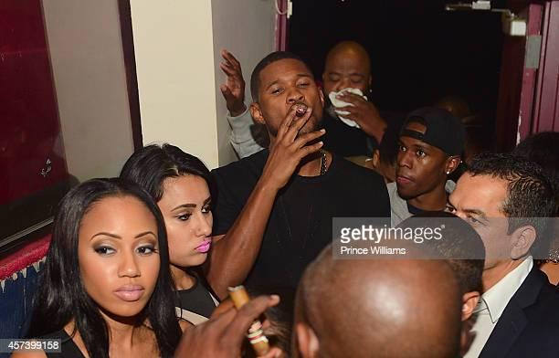 Usher attends Hip Hop Awards Grande Finale Hosted by Jeezy Future at Velvet Room on September 21 2014 in Chamblee Georgia