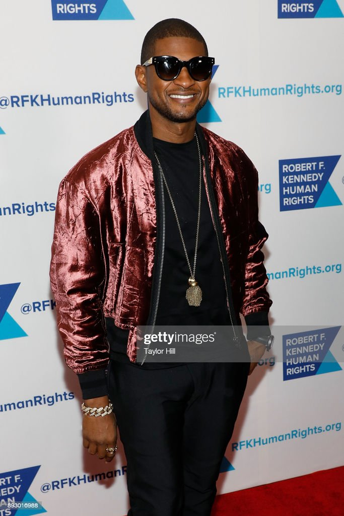 Usher attends the 2017 Ripple of Hope Awards at New York Hilton on December 13, 2017 in New York City.