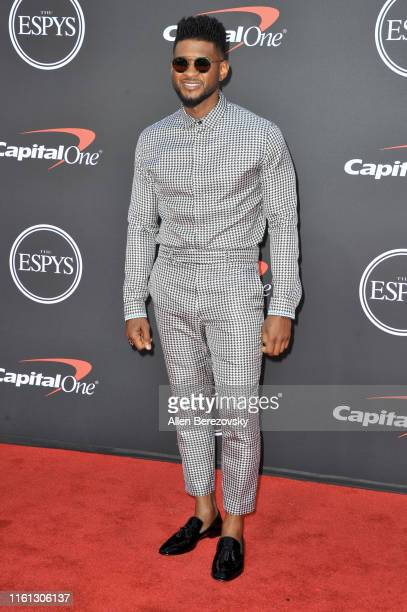 Usher attends the 2019 ESPY Awards at Microsoft Theater on July 10 2019 in Los Angeles California