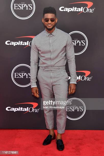 Usher attends The 2019 ESPYs at Microsoft Theater on July 10 2019 in Los Angeles California