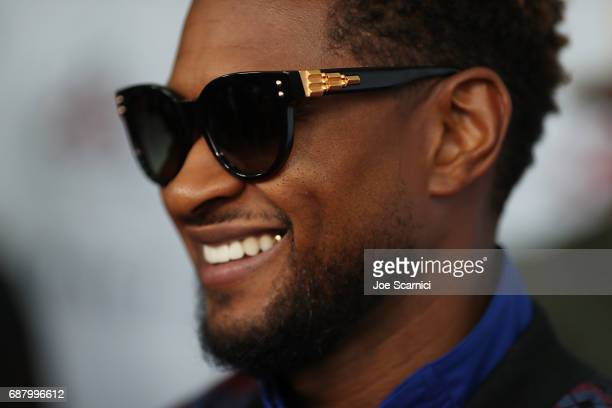 Usher attends the 8th Annual Big Fighters Big Cause Charity Boxing Night at the Loews Santa Monica Beach Hotel on May 24 2017 in Santa Monica...