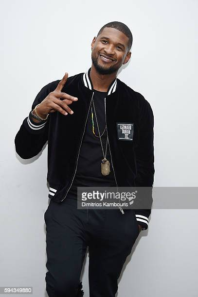 Usher attends the Hands Of Stone US premiere after party at The Redbury New York on August 22 2016 in New York City