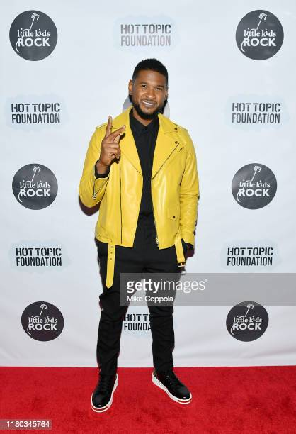 Usher attends the Little Kids Rock Benefit 2019 at PlayStation Theater on October 10, 2019 in New York City.