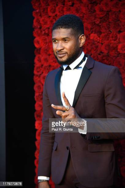 Usher attends Tyler Perry Studios grand opening gala at Tyler Perry Studios on October 05 2019 in Atlanta Georgia