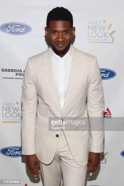 Usher attends Usher's New Look's 2013 President's Circle Awards Luncheon at St Regis Atlanta on July 17 2013 in Atlanta Georgia