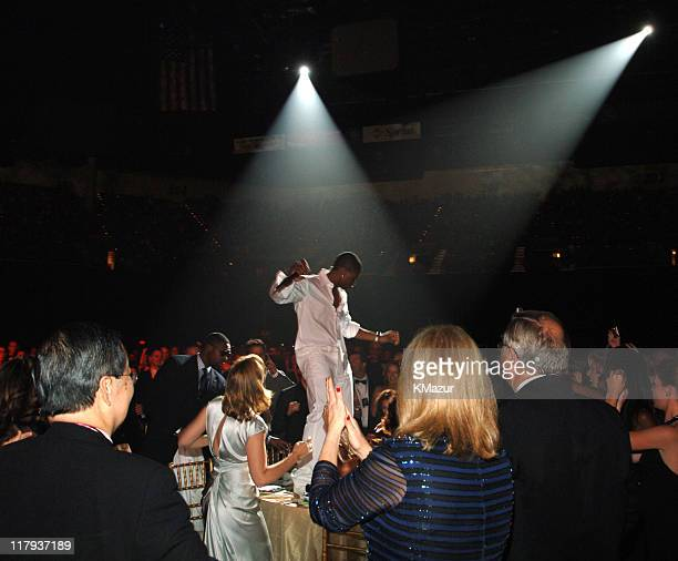"""Usher dancing on the tables during The Andre Agassi Charitable Foundation's 10th Annual """"Grand Slam for Children"""" Fundraiser - Show at MGM Grand..."""