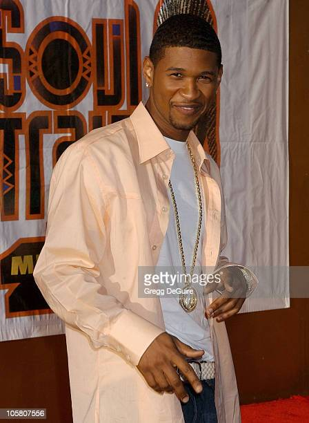 Usher during 18th Annual Soul Train Music Awards Arrivals at International Cultural Center in Los Angeles California United States
