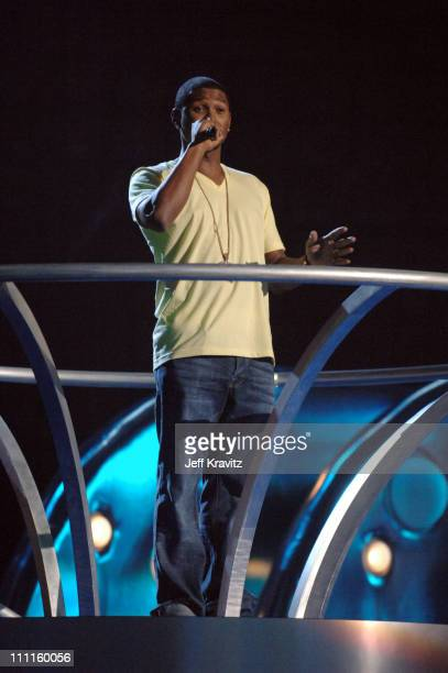 Usher during 2005 MTV VMA Rehearsals Day 2 at American Airlines Arena in Miami Florida United States