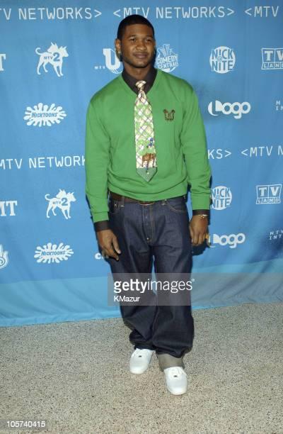Usher during 2005/2006 MTV Networks UpFront at Madison Square Gardens in New York City New York United States