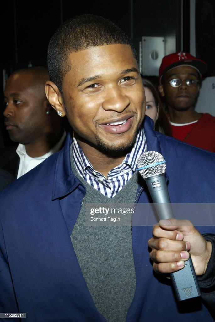 Usher during 'ATL' Special New York Screening - March 27, 2006 at Tribeca Cinemas in New York, New York, United States.