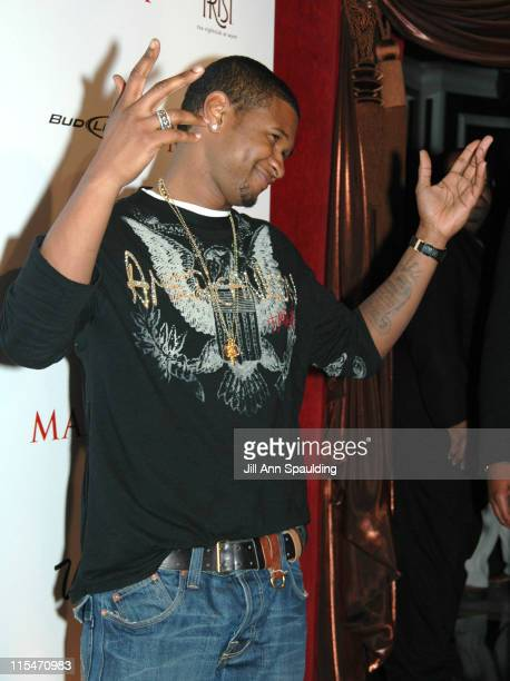Usher during Maxim Magazine 100th Birthday Celebration - Arrivals at Tryst at Wynn Las Vegas in Las Vegas, Nevada, United States.