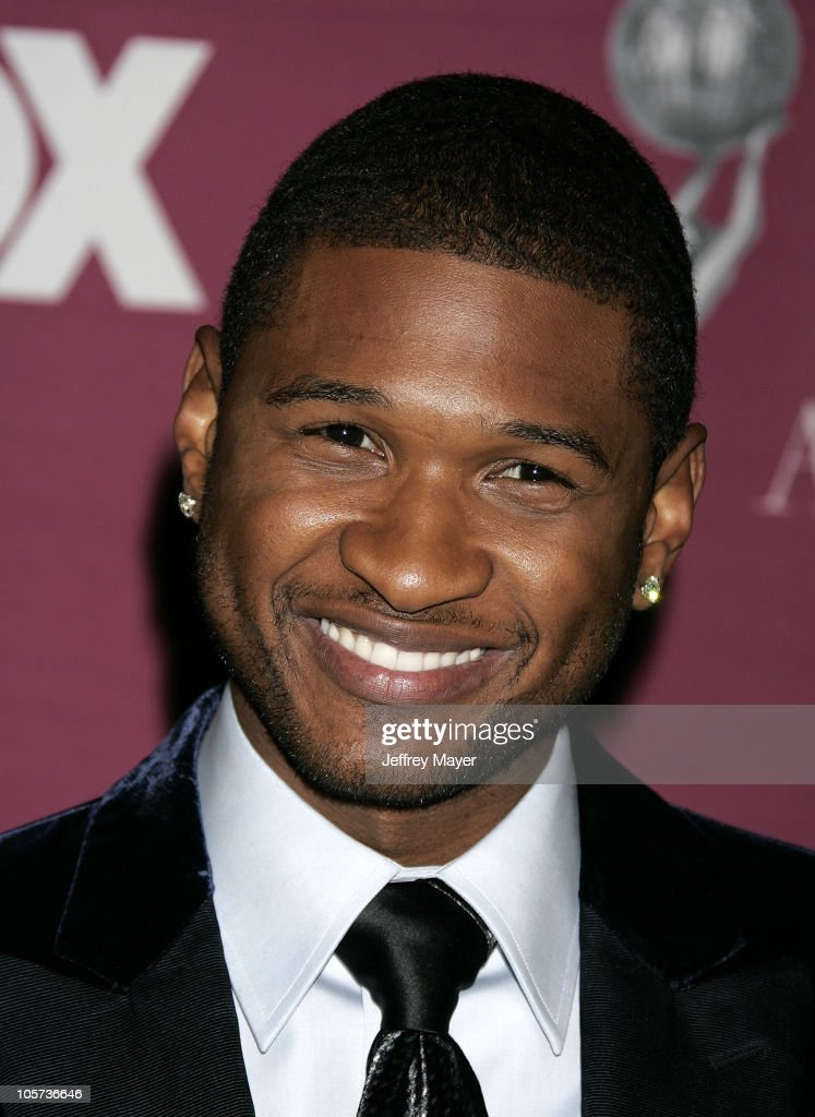Usher during The 36th Annual NAACP Image Awards - Arrivals at Dorothy Chandler Pavilion in Los Angeles, California, United States.
