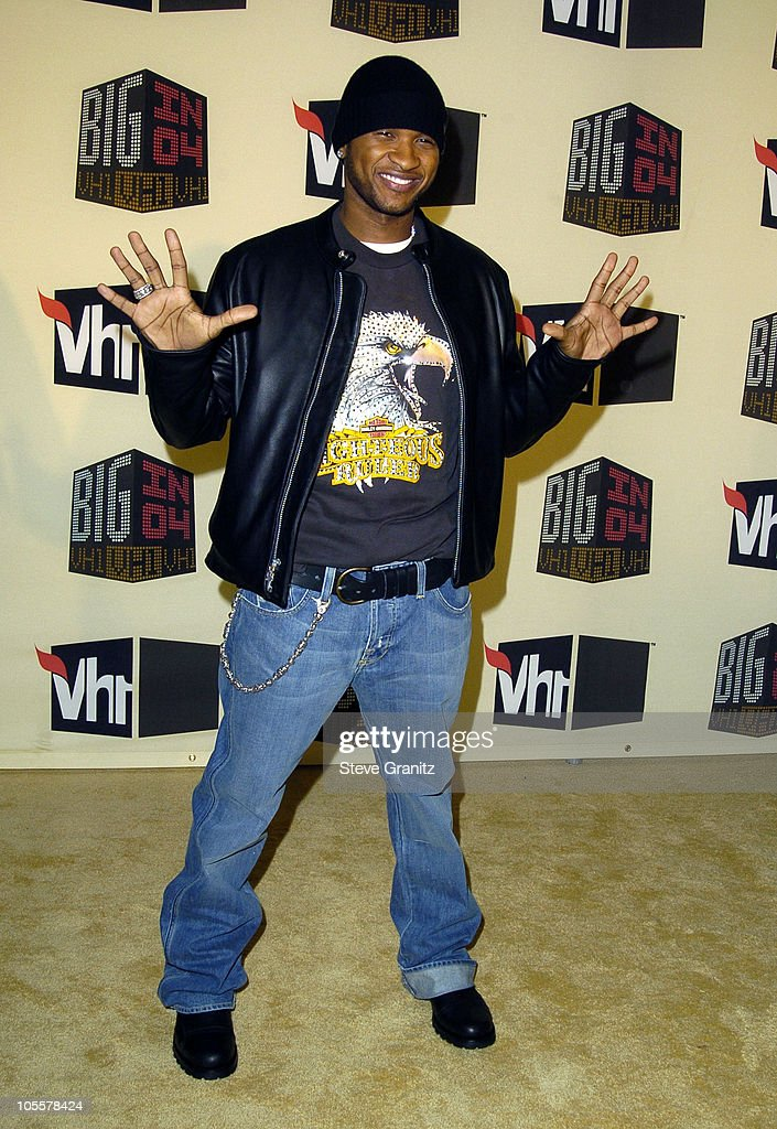 Usher during VH1 Big in '04 - Arrivals at Shrine Auditorium in Los Angeles, California, United States.