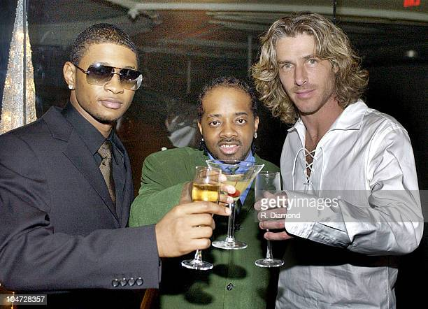 Usher Jermaine Dupri and Ed Rowland of Collective Soul