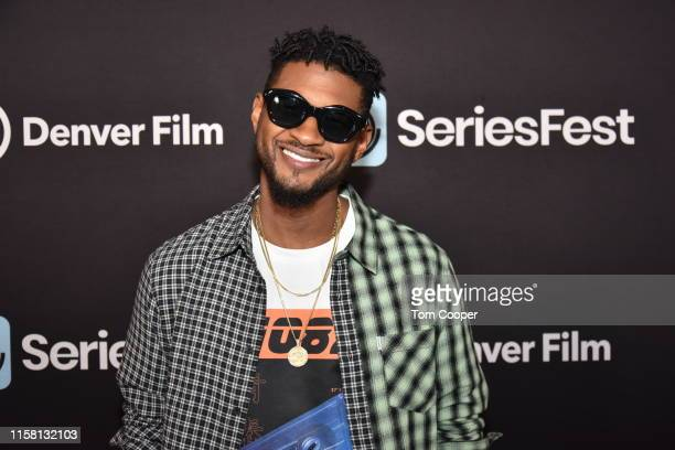 Usher on the red carpet during SeriesFest Season 5 at Red Rocks on June 24 2019 in Morrison Colorado