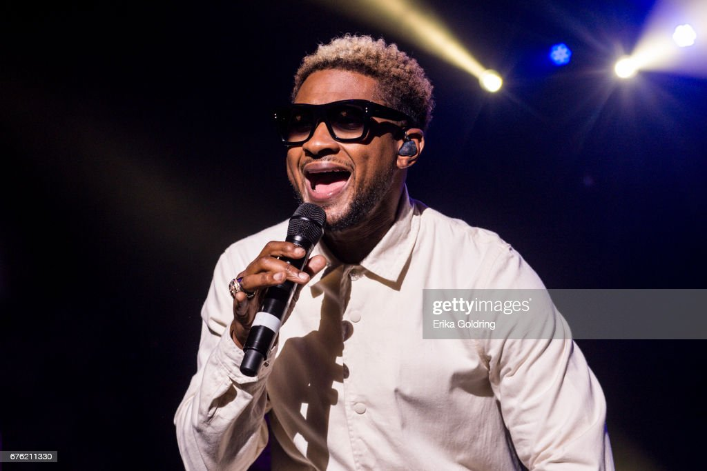 Usher performs during Trombone Shorty's Treme Threauxdown at Saenger Theatre on April 29, 2017 in New Orleans, Louisiana.