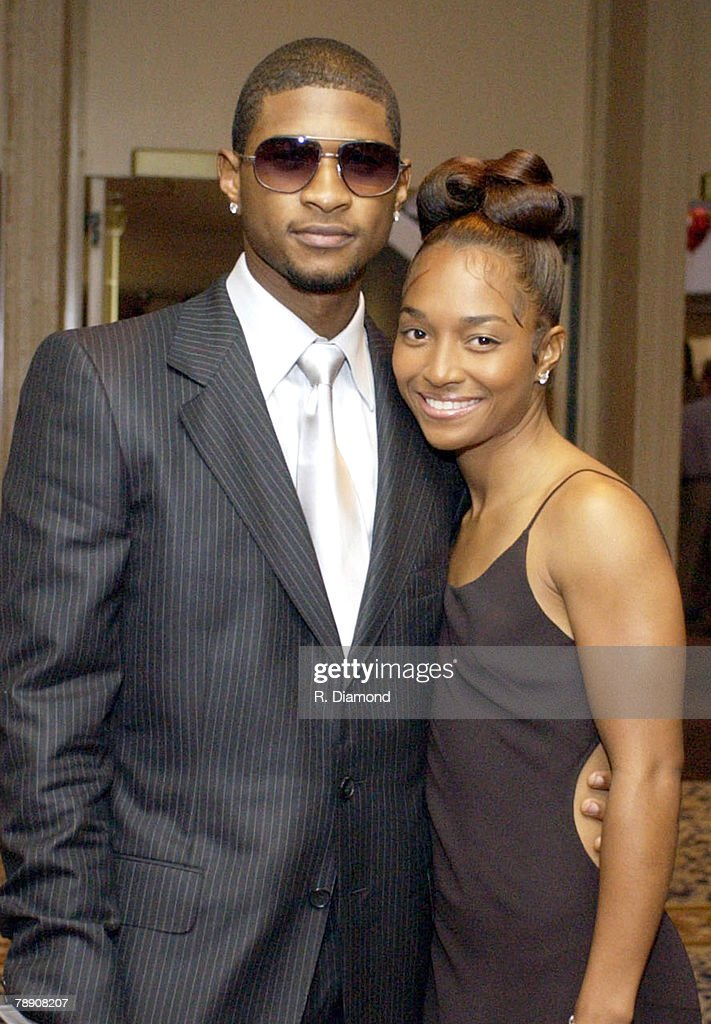 Usher Raymond and Chili of TLC