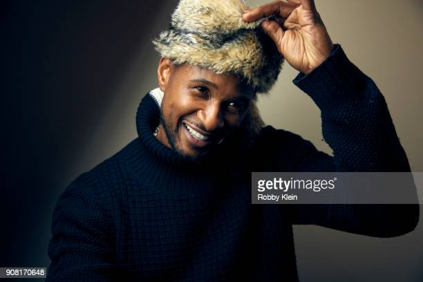Usher Raymond from the film 'Burden' poses for a portrait at the YouTube x Getty Images Portrait Studio at 2018 Sundance Film Festival on January 19...