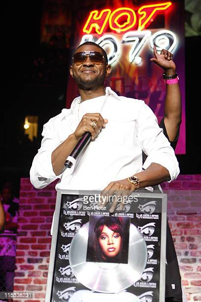 Usher recipient of the Lisa Left Eye Lopes Community Service Award