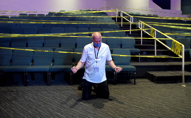 NV: Houses Of Worship Reopen In Las Vegas Amid COVID-19 Pandemic