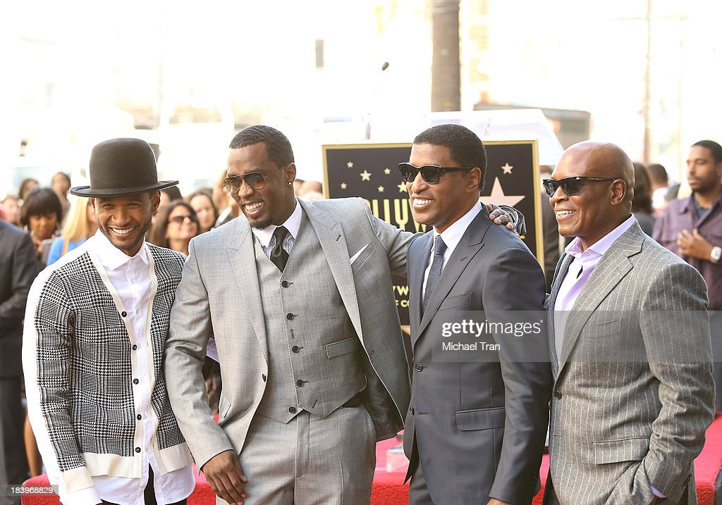 Kenny 'Babyface' Edmonds Honored On The Hollywood Walk Of Fame
