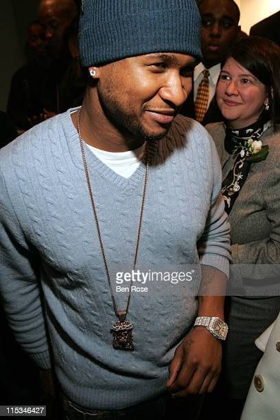 Usher with the Santos 100 wrist watch from Cartier
