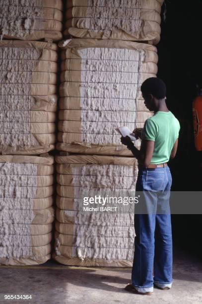 Usine de coton à Agboville Côte dIvoire