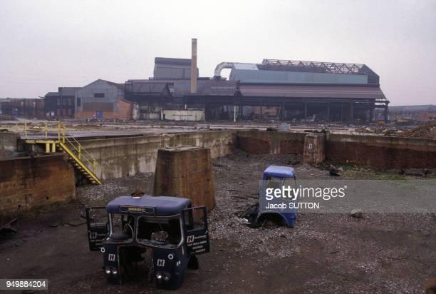 Usine fermée décembre 1984 en Grande Bretagne RoyaumeUni