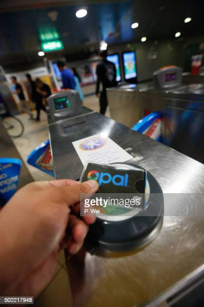 Using an opal card in Sydney's Mass Transit System