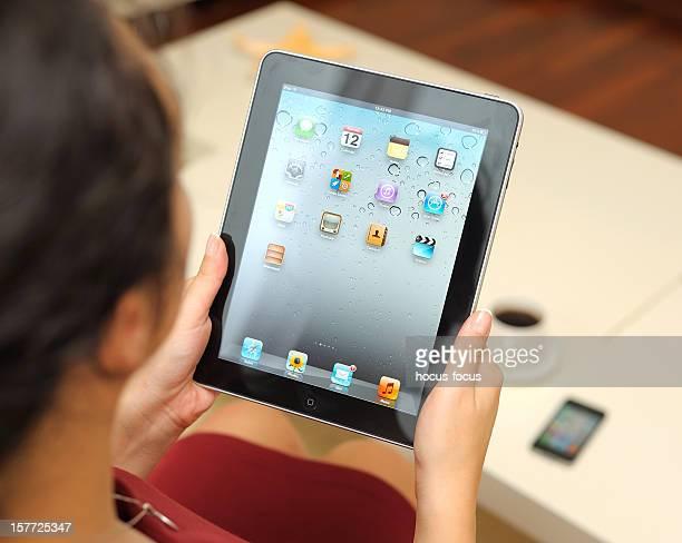 Using Apple iPad