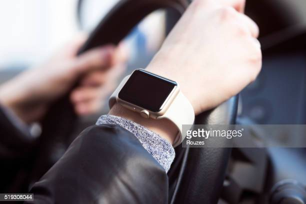 Using Apple Watch in car