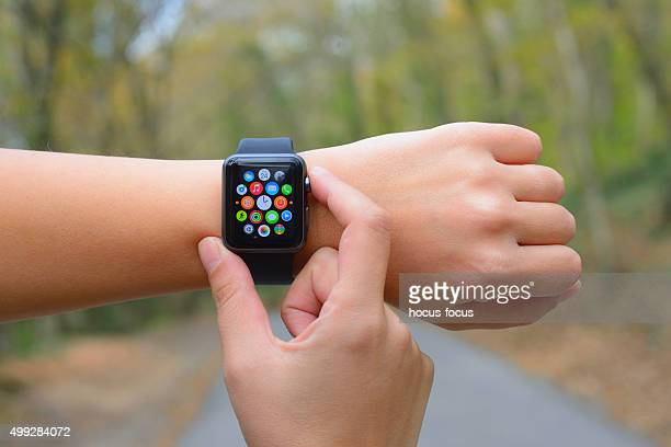 Using Apple Watch in nature