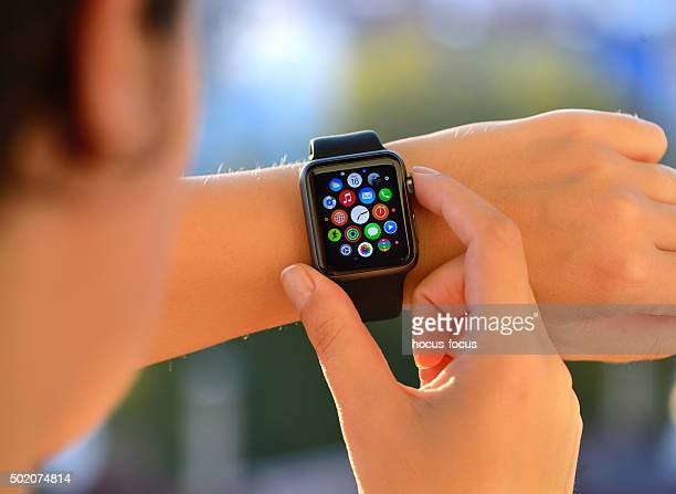 Using Apple Watch Sport