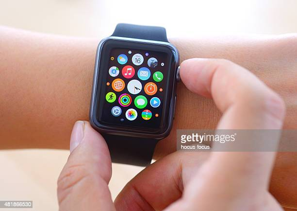 Using Black Apple Watch Sport