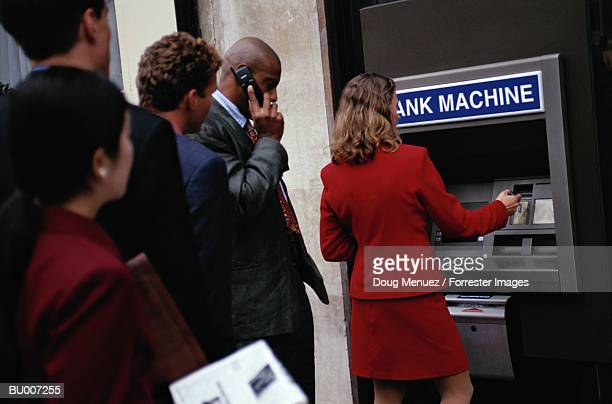 Using Cash Machine
