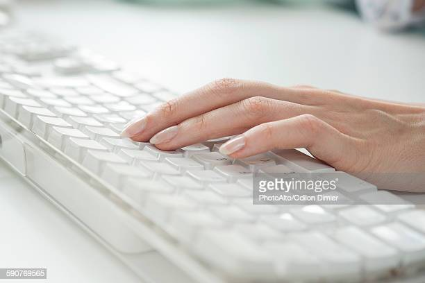 using keyboard - input device stock photos and pictures