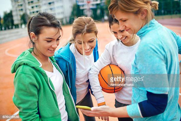 Using mabile phone during sport
