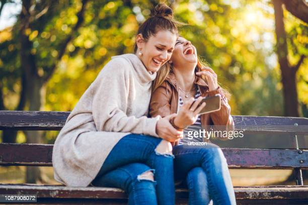 using phone on a bench - article stock pictures, royalty-free photos & images