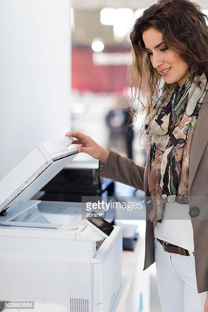 Using photocopier
