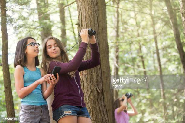 Using Smartphone to Study Nature