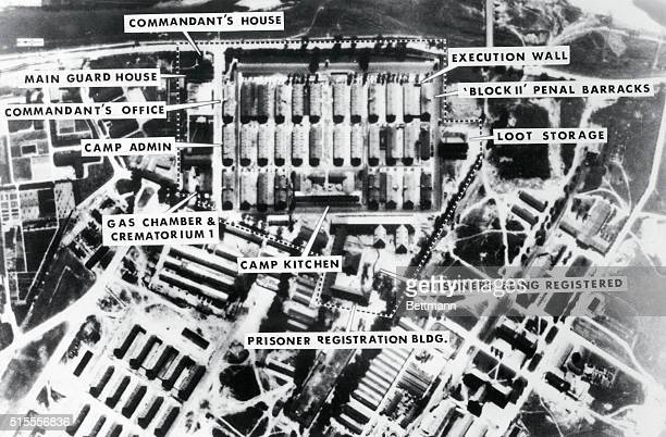 Using sophisticated modern photo analysis techniques on World War II aerial reconnaissance film two CIA analysts produced the only known photographs...