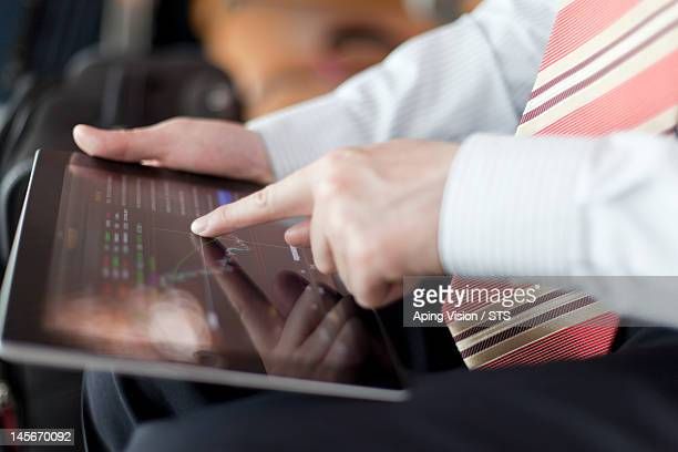 using tablet PC