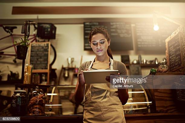 Using technology to streamline daily coffee shop related tasks