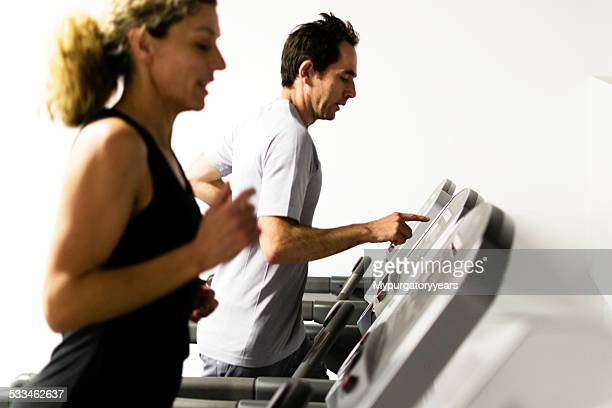 Using the treadmill