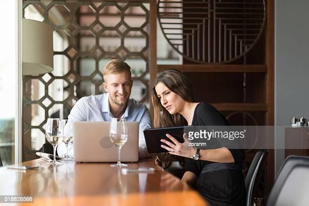 Mit wireless-Technologie im Restaurant