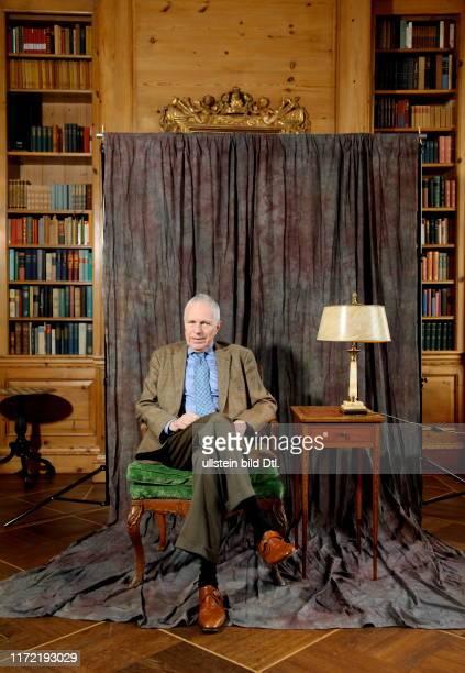Ökonom Edmund S. Phelps - Nobelpreis - aufgenommen im Axel Springer Journalisten Club